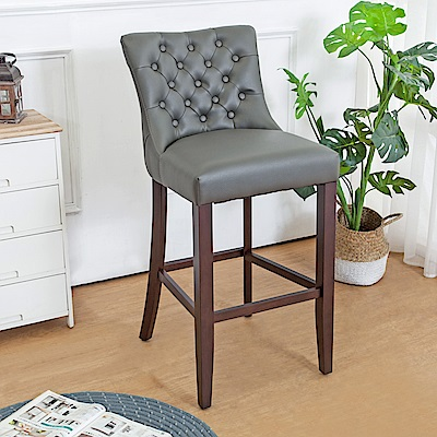 Boden-藍恩實木吧台椅/吧檯椅/高腳椅(高)(二入組合)-48x57x102cm