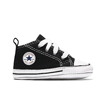 CONVERSE-First Star Crib嬰兒鞋-黑