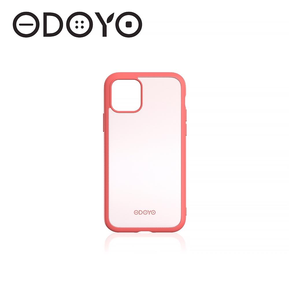 【ODOYO】iPhone 11 6.1吋邊框強化防震背蓋