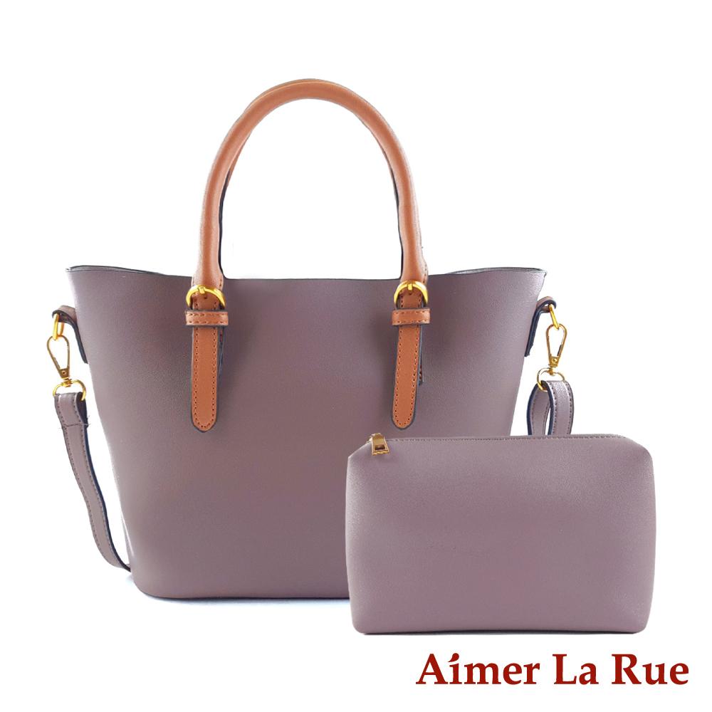 Aimer La Rue 柏林經典撞色手提側背二件組(三色)
