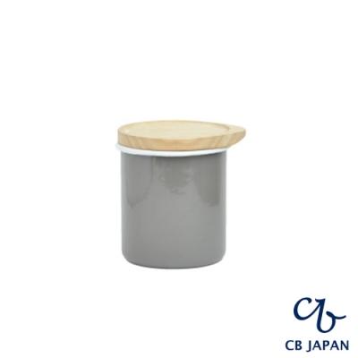 CB 都會系列琺瑯原木置物罐/茶葉罐/收納罐