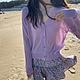 輕薄純色防曬針織開衫上衣-F(共七色)-沐朵 product thumbnail 1