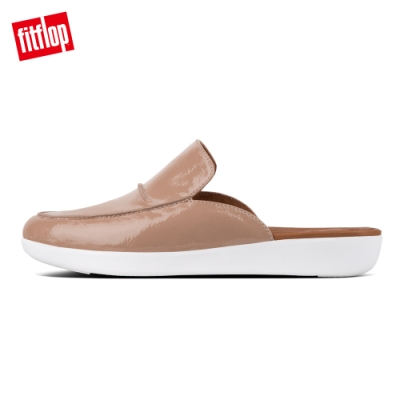 FitFlop SERENE CRINKLE PATENT 灰褐色