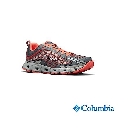 Columbia 哥倫比亞 女款-水陸兩用鞋-橘紅 UBL46170AH