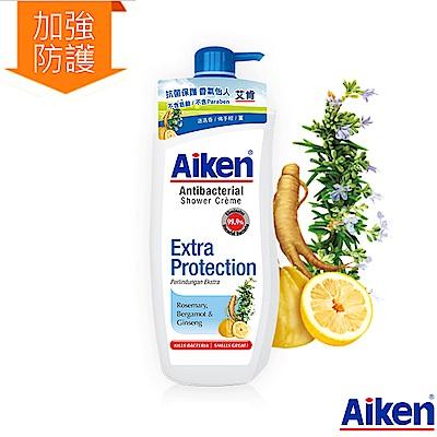 Aiken艾肯 迷迭香&佛手柑&薑抗菌沐浴乳 (加強防護) 900ml