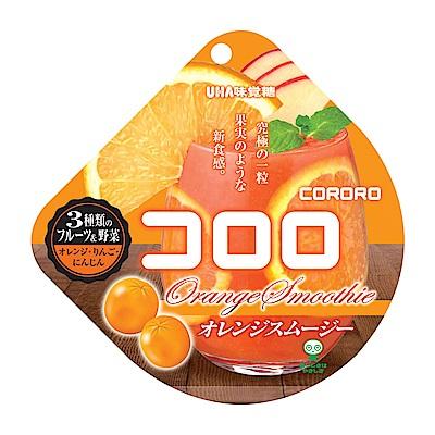 UHA味覺糖 酷露露Q糖-橘子果昔(40g)