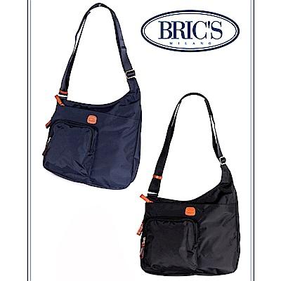 BRICS 義大利時尚 女仕斜背包 橄欖綠 多收納口袋