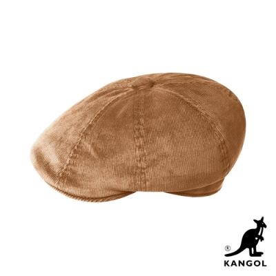 KANGOL-HAWKER 燈芯絨鴨舌帽-駝色