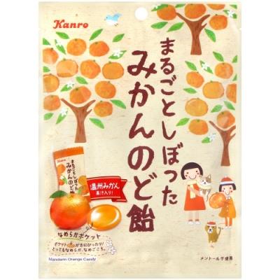 Kanro 濃厚蜜柑喉糖(80g)