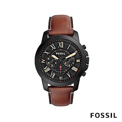 FOSSIL GRANT SPORT 冒險家精神大錶面男錶 約44mm FS5241