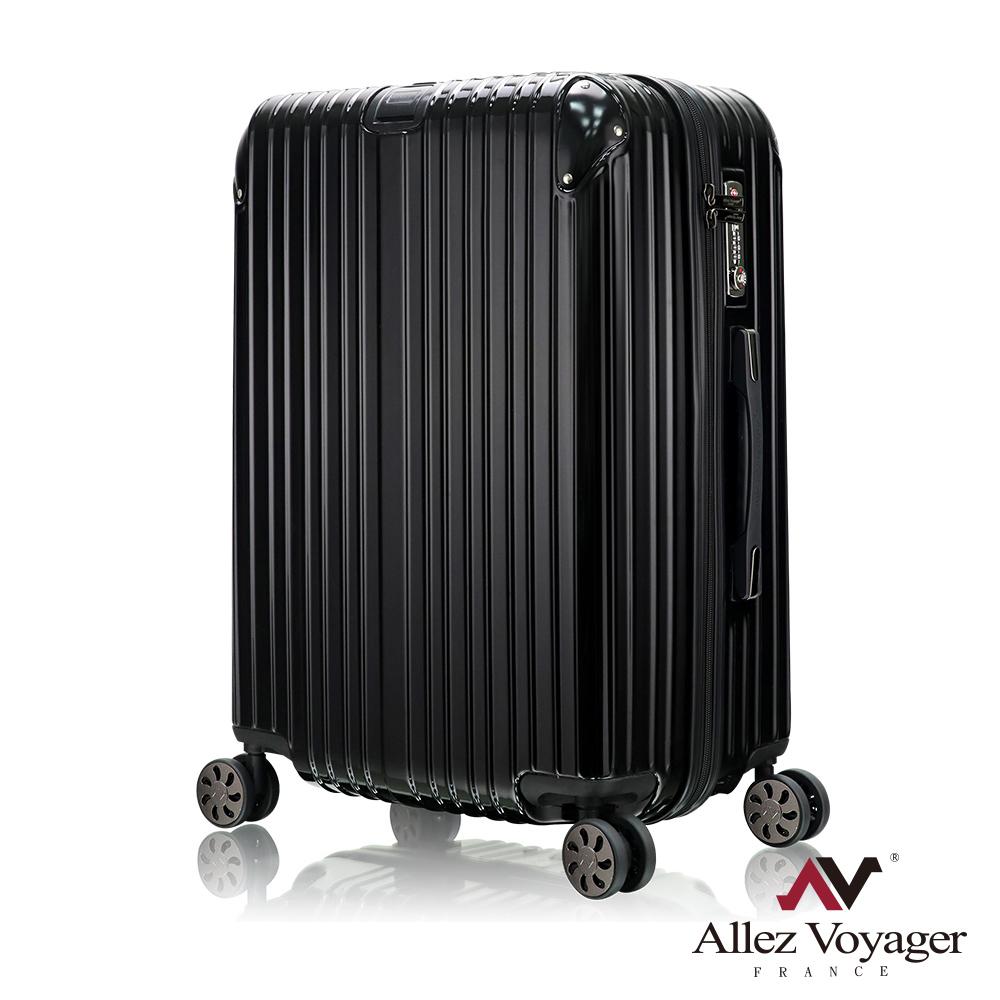 法國奧莉薇閣 28吋行李箱 PC硬殼旅行箱 箱見恨晚(黑色)