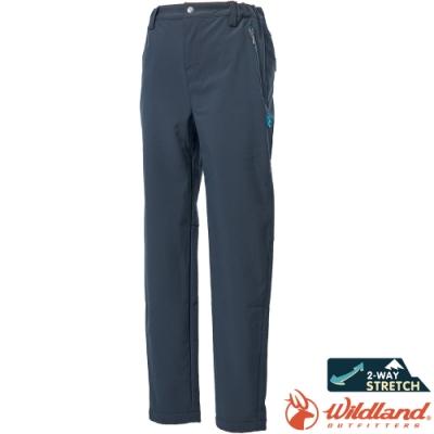 Wildland 荒野 0A62362-96深霧灰 中童輕三層防風保暖褲