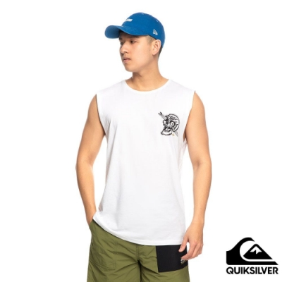 【QUIKSILVER】SUMMER SKULL MUSCLE 背心 白色