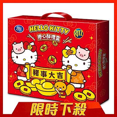 (活動)Hello Kitty 捲心酥禮盒(374g)