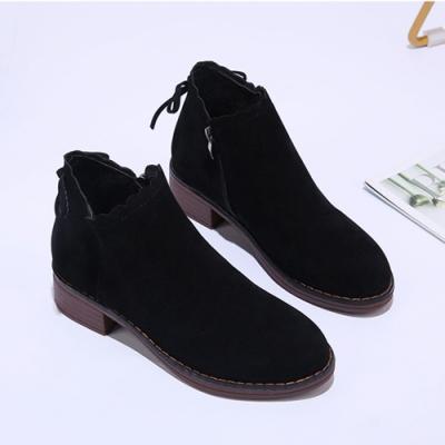 KEITH-WILL時尚鞋館-英倫風巴洛克綁帶穆勒平底鞋-黑色
