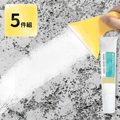 【家適帝】壁癌隙縫牆壁全能修復劑5件組(修復劑*3+擠壓器*1+刮板*1)