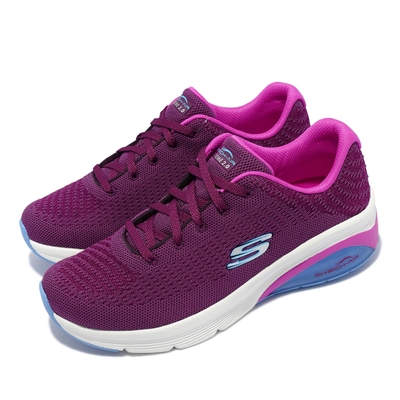 Skechers 休閒鞋 Skech Air Extreme 2 女鞋 踏青 郊遊 緩衝鞋墊 氣墊 可機洗 網布 紫 白 149645-PLUM