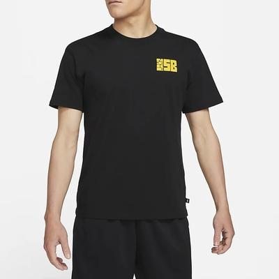 Nike SB TEE STAMP 塗鴉 男短袖上衣-黑-DJ4873010