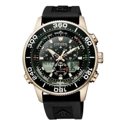CITIZEN 星辰 PROMASTER注目潮流光動能手錶(JR4063-12E)