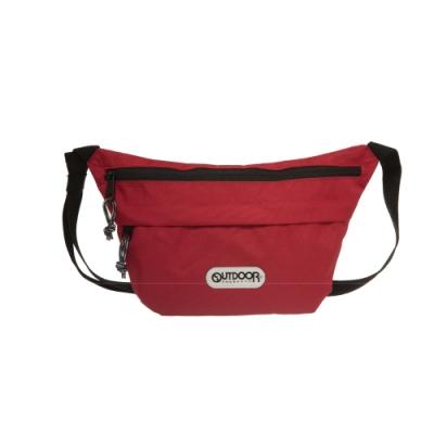 【OUTDOOR】二用側背包-紅色 OD191106RD