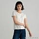GIORDANO 女裝素色圓領短袖T恤 - 16 皎白 product thumbnail 1