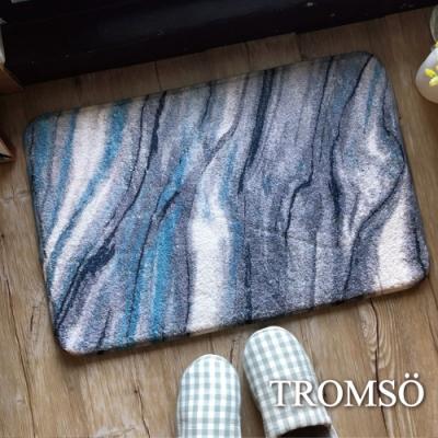 TROMSO羔羊絨吸水小地墊-S411藍狐潮流