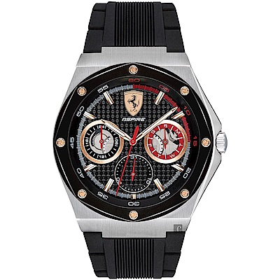Scuderia Ferrari 法拉利 奔馳日曆手錶(FA0830556)-42mm