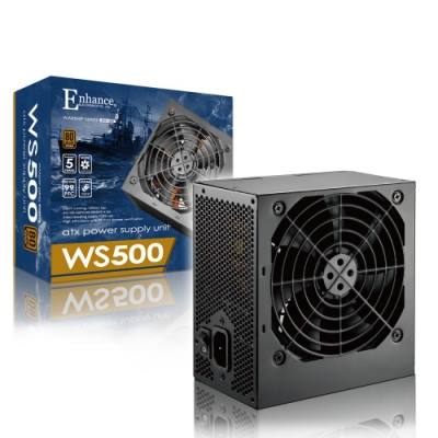 Enhance WS 500  500瓦 80Plus銅牌 電源供應器