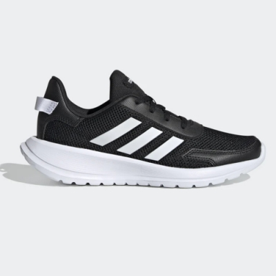 adidas 慢跑鞋 女鞋 緩震 運動 中大童鞋 黑 EG4128 Tensaur Run K