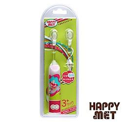 HAPPY MET 兒童教育型語音電動牙刷 (附替換刷頭X1) -粉精靈款
