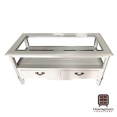 漢妮Hampton米羅玻璃咖啡桌-120x60x55cm