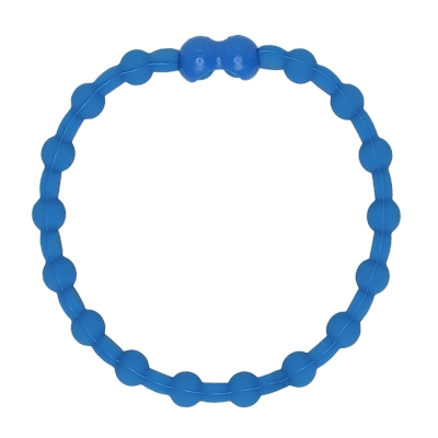 Pro Hair Tie 扣環髮圈單條組-馬卡龍藍色