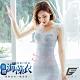 GIAT台灣製200D海藻胜肽膠原潤肌塑型內搭衣(蕾絲款-C.淺灰) product thumbnail 1