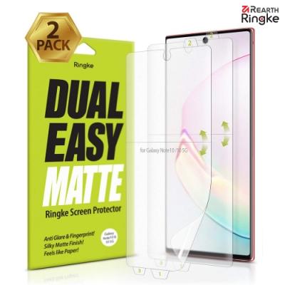 【Ringke】Note 10 [Dual Easy] 易安裝螢幕保護貼-霧面(2入)