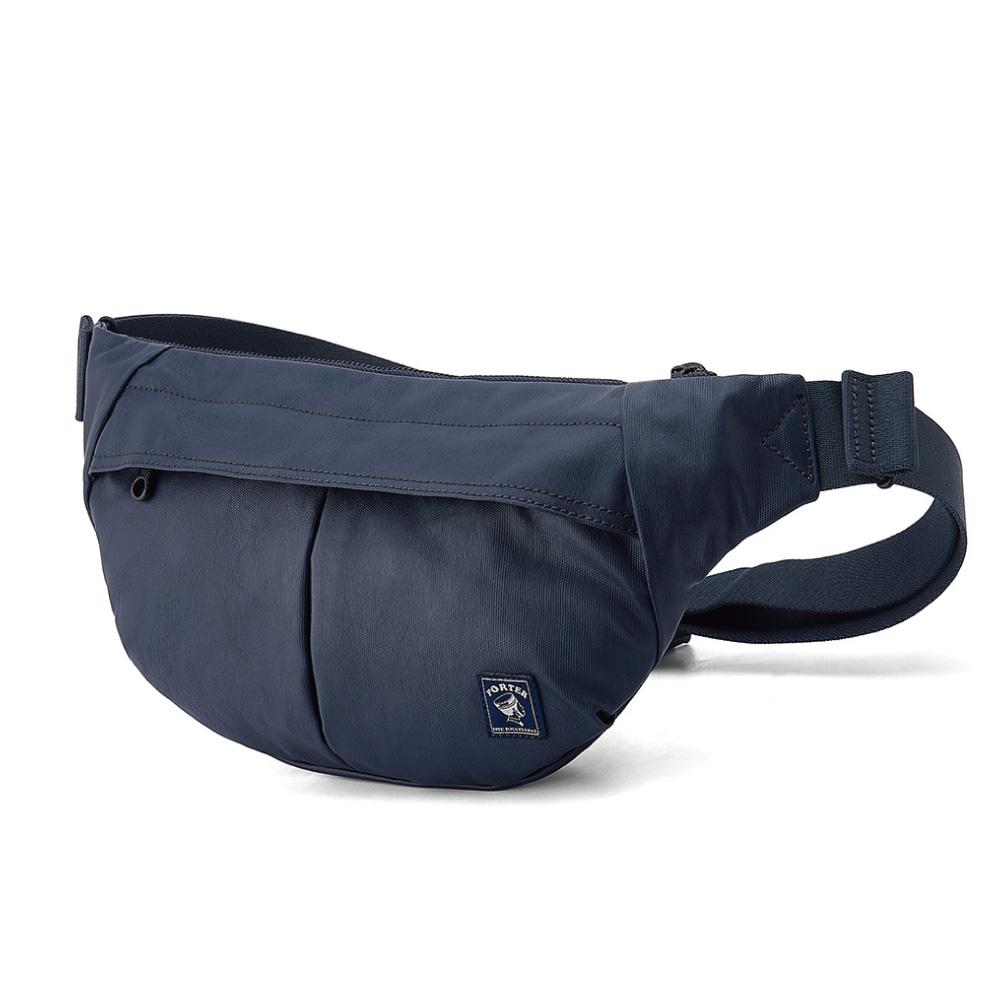 PORTER - 秘境探險FREELAND個性休閒腰包 - 深藍