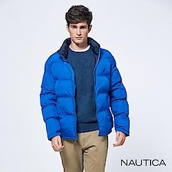 Nautica恆溫保暖科技羽絨立領外套-寶藍