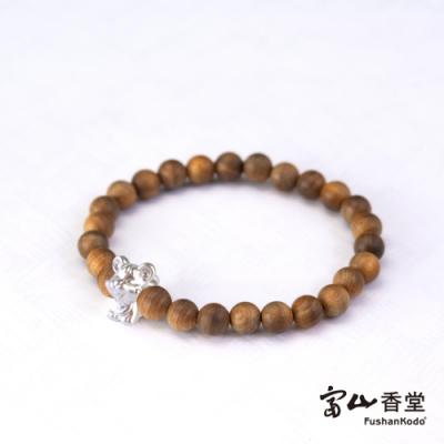 【富山香堂】開運鼠來寶台灣檀木珠手鍊