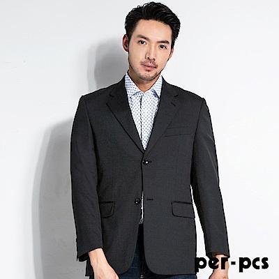 per-pcs 商務質男毛料經典素面款西裝外套(709303)