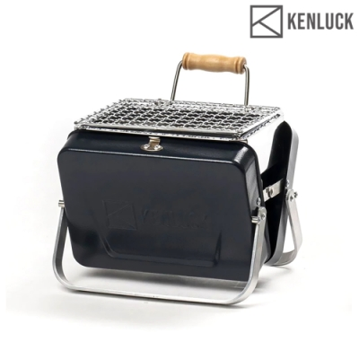 KENLUCK 迷你攜帶型烤肉架 Mini Grill 深藍