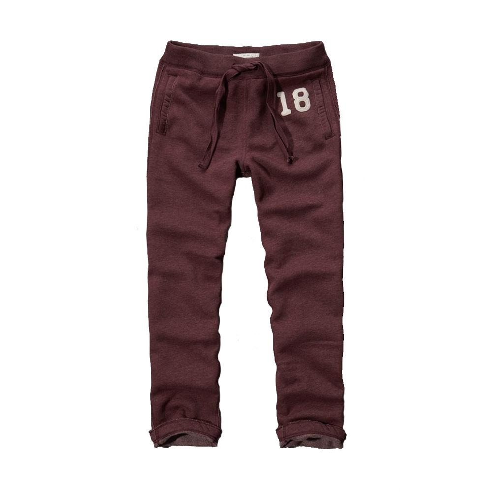 AF a&f Abercrombie & Fitch 長褲 紅 1401