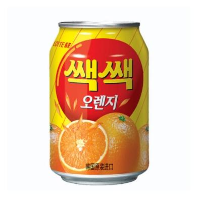 Lotte 樂天粒粒橘子汁(238ml)