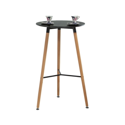 柏蒂家居-伊芳2尺圓桌/吧台桌-60x60x105cm