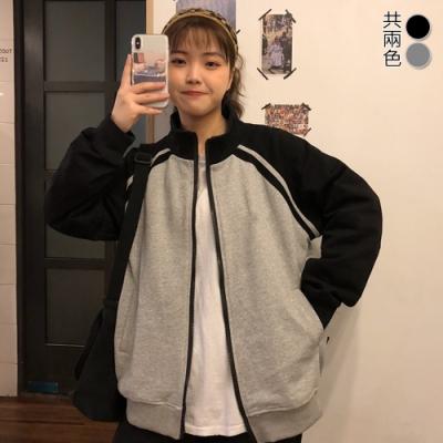 【韓國K.W.】(預購)明星款春回大地運動棒球外套