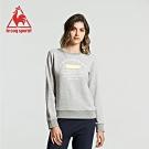 法國公雞牌圓領T恤 LGJ2254195-女-麻灰