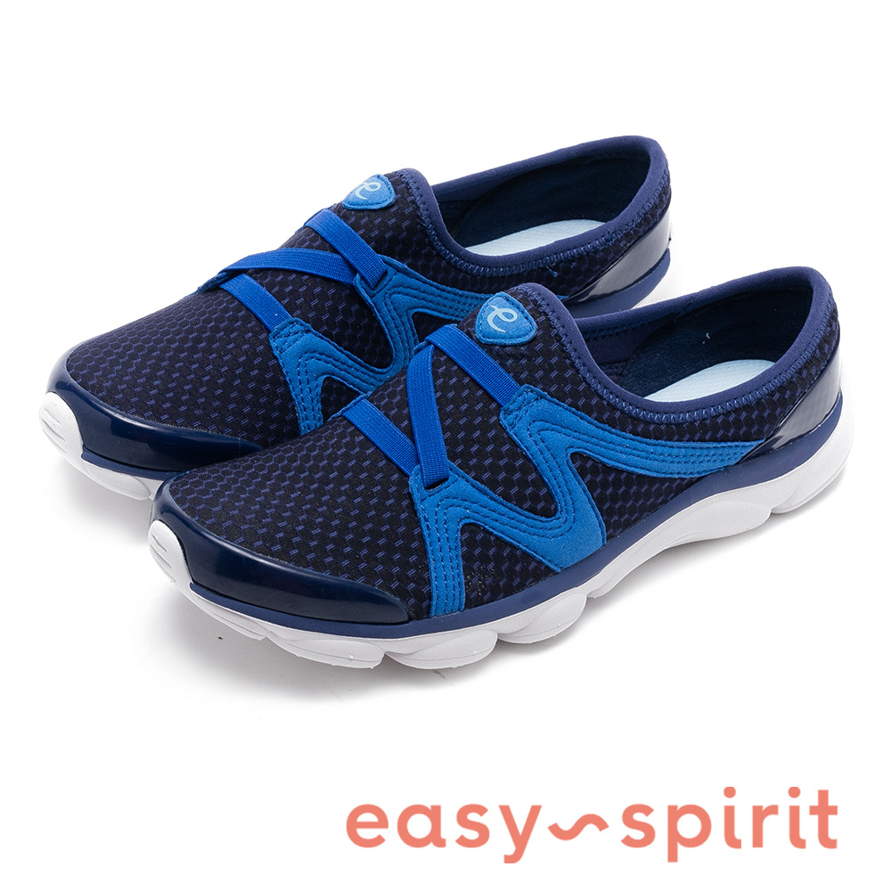 Easy Spirit RIPTIDE2 極輕量彈性布氣墊鞋-藍色