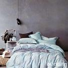 BEDDING-40支100%天絲標準5尺雙人七件式兩用被床罩組-相約地中海-TENCEL