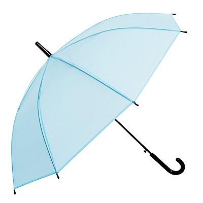樂嫚妮 自動開直立雨傘-彩色磨砂