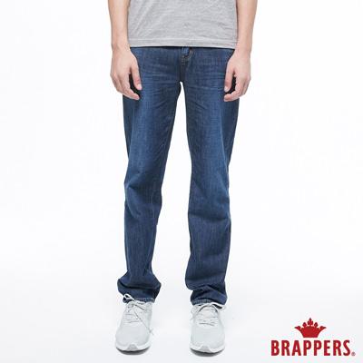 BRAPPERS 男款 HG-高腰系列-高腰全棉直筒褲-藍