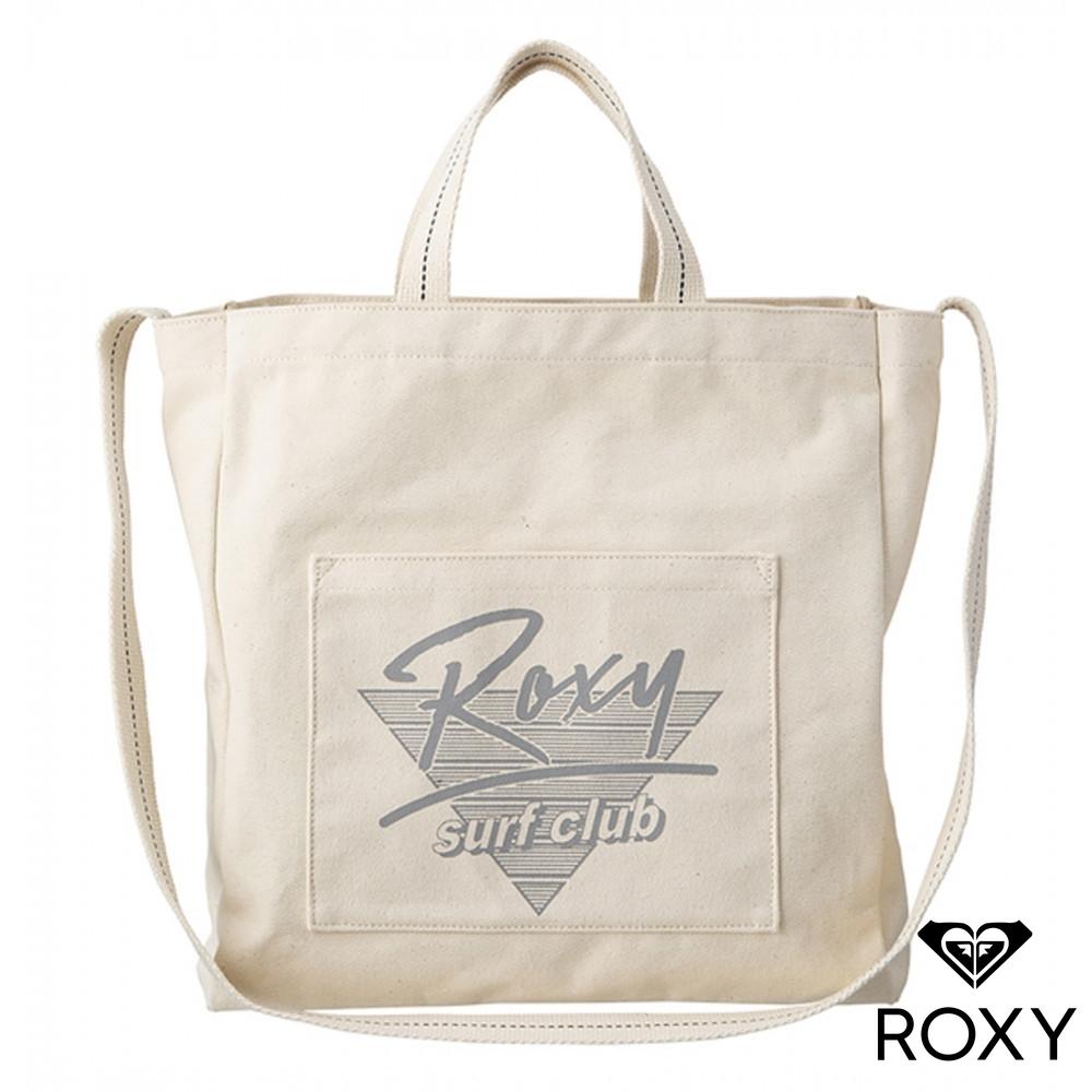 【ROXY】FRESHY 手提/肩背兩用包 米