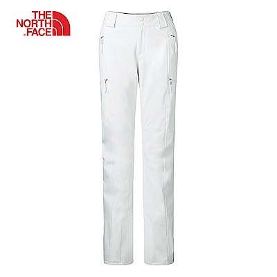 The North Face北面女款白色滑雪褲|3KQRFN4